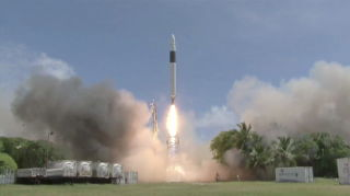 SpaceX Falcon 1 Liftoff