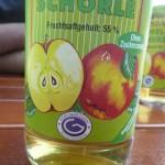 Apfelschorle mit Granderwasser