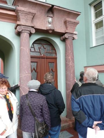 Ehem. Auguste-Stift, Eingang eines Nebengebäudes