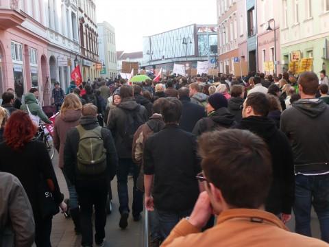 Hochschuldemo 19.03.12 – Friedrich-Ebert-Straße