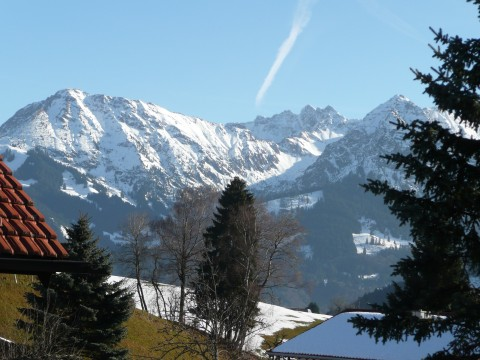 Oberstdorfer Berge Weihnachten 2012
