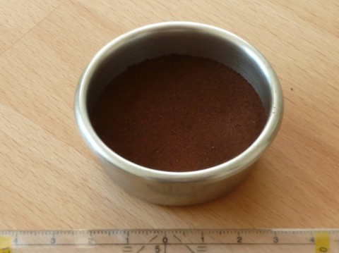 A sample of a porous medium.