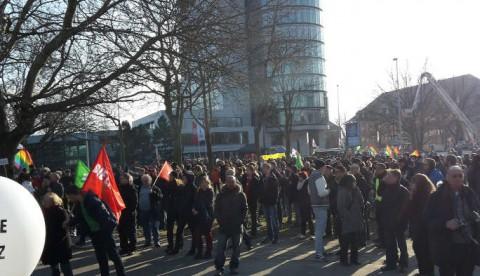 Demo am Vattenfall-Gebäude, 15.02.15