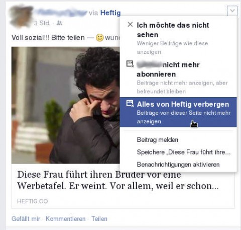 Facebook – heftig.co verbergen